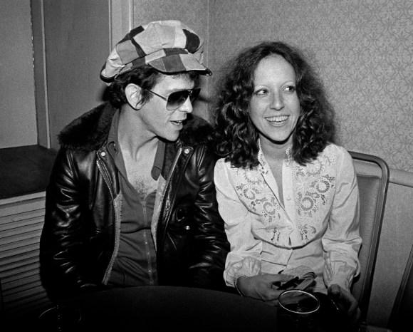 Lou Reed & Lisa Robinson.NYC.Nov.1976.creditBobGruen