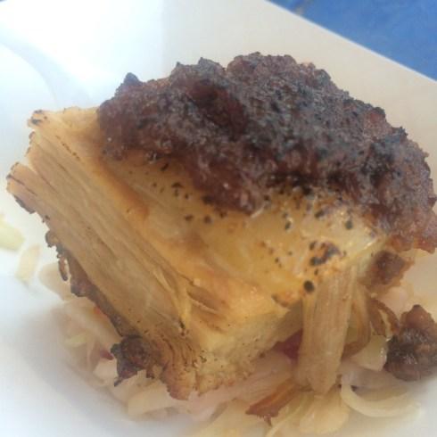 Bacon p belly w bacon jam