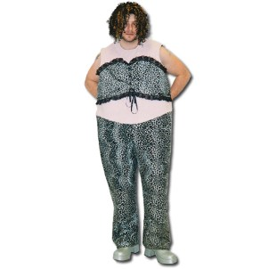 Fat Scary Spice Dress Costume