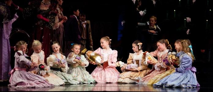 Artists of Ballet West in Willam Christensen's The Nutcracker, photo by Luke Isley