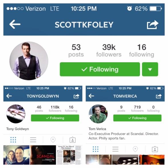 phoebe instagram follows