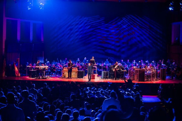 Kendrick Lamar with the National Symphony Orchestra_October 20, 2015_Photo by Yassine El Mansouri