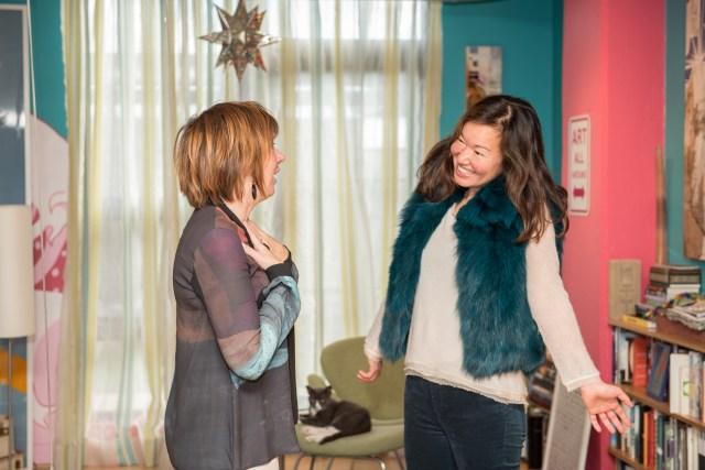 Jenn with Client Philippa (credit Emma McAlary