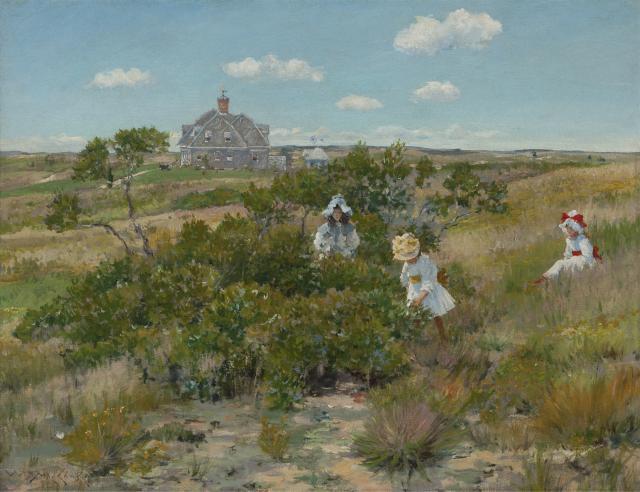 The Big Bayberry Bush William Merritt Chase c. 1895