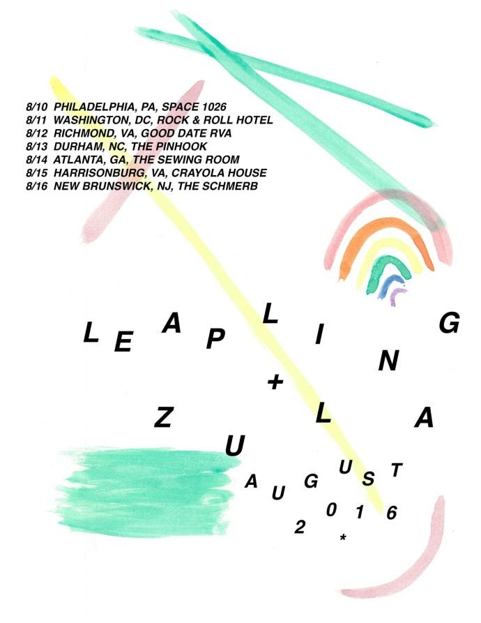 Leapling Zula Tour Poster
