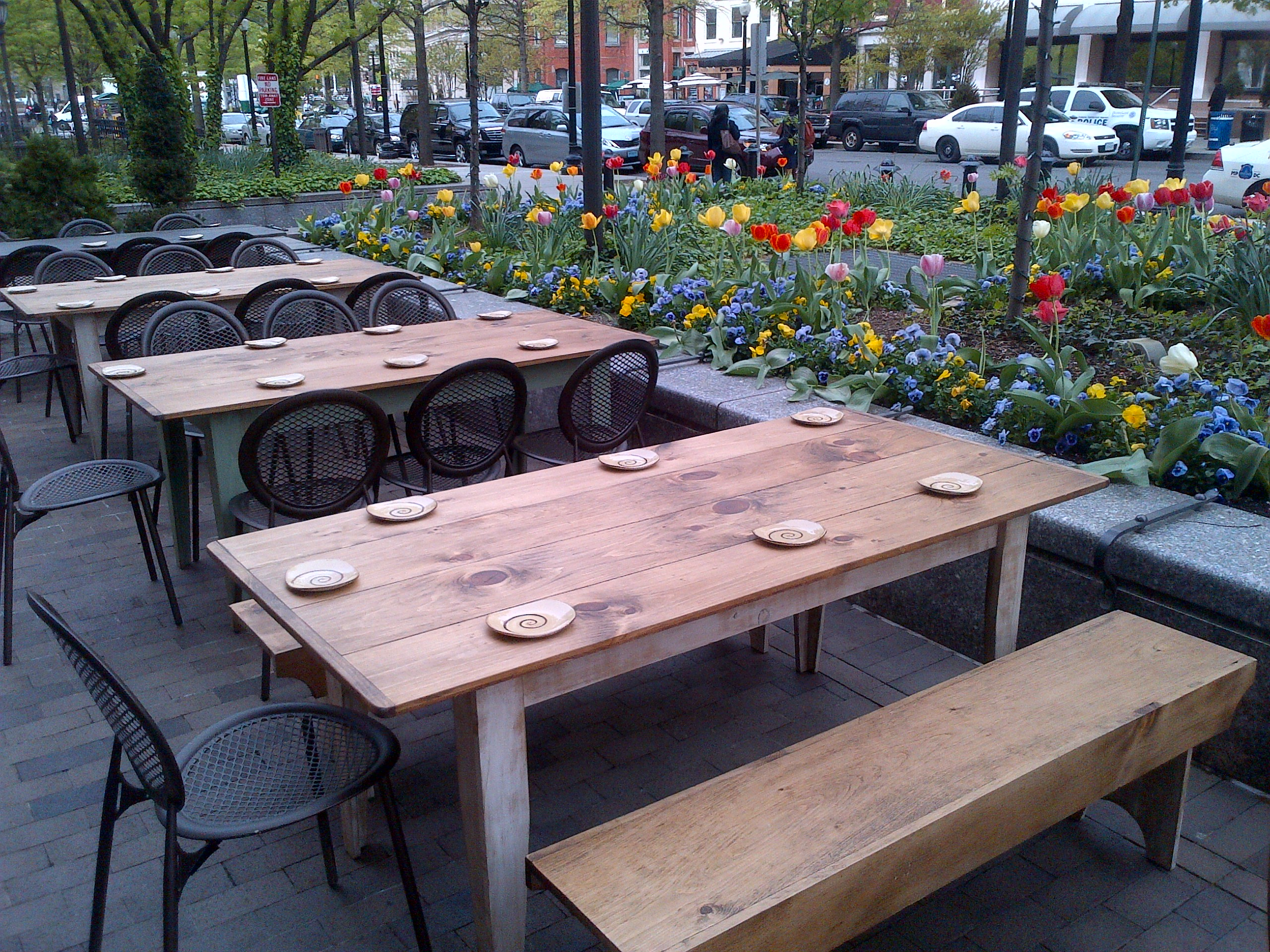 Luckily For Us, They Doubled Their Gorgeous Patiou0027s Seating Capacity (look  At Those Flowers!!), Making Room For 70 Prime Outdoor Wining And Dining  Spots.