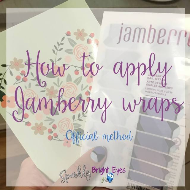 How to apply Jamberry wraps- official method