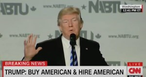 Donald Trump spoke at a construction conference and was booed by the crowd