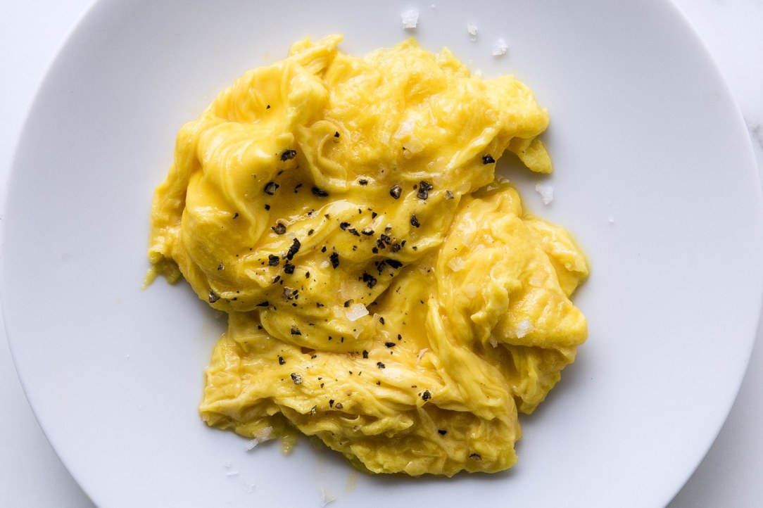 How to make the perfect scrambled eggs