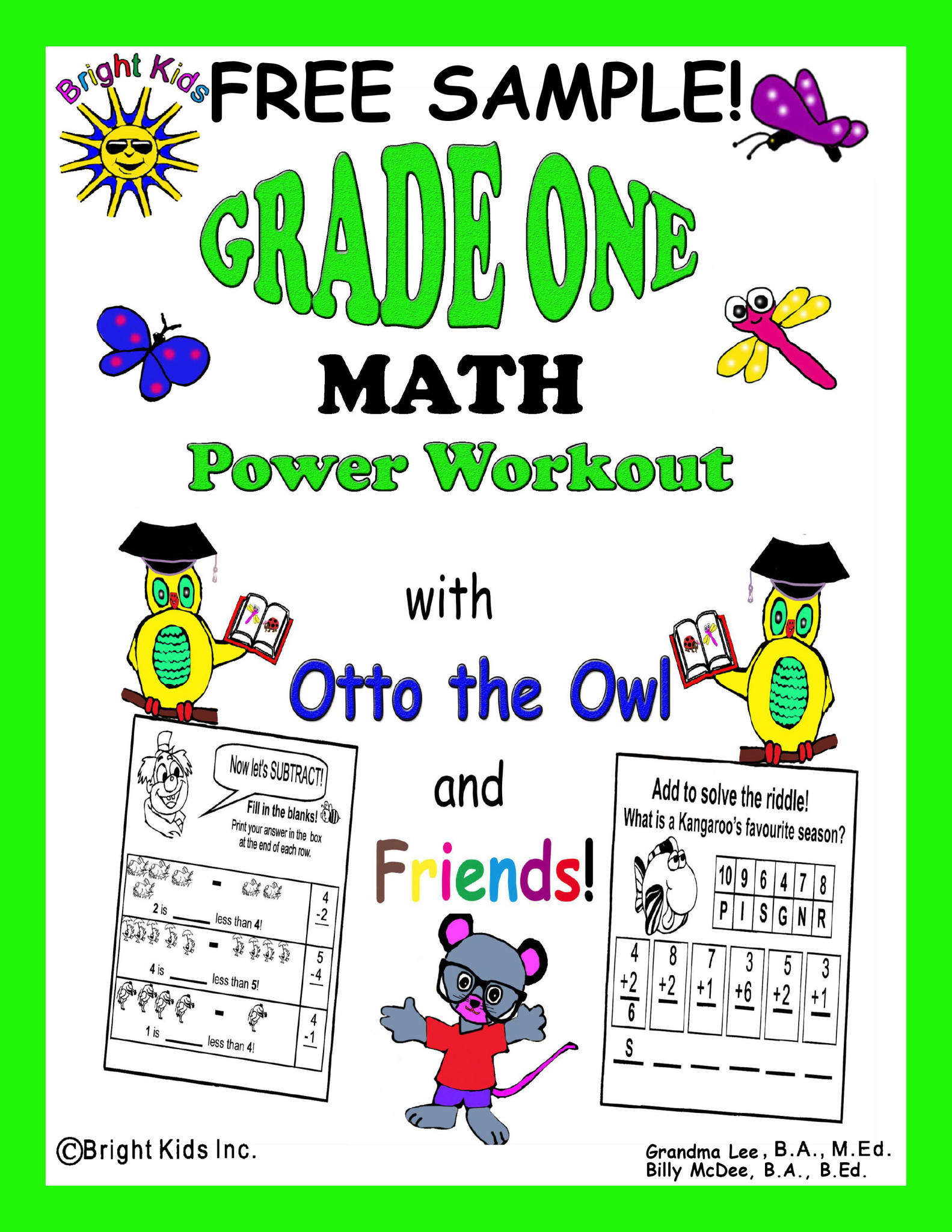 Grade 1 Math Power Workout