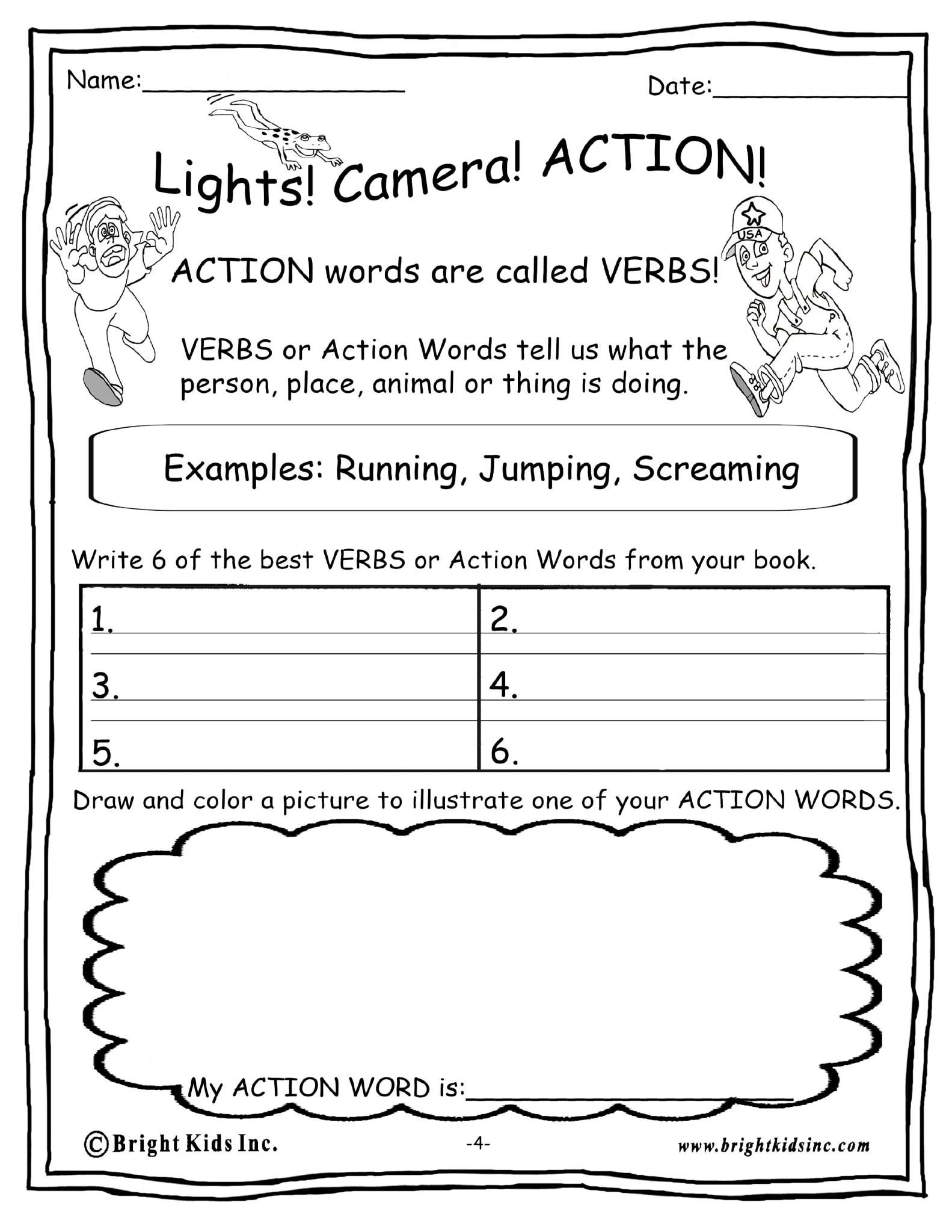 Bright Kids Book Report Activities