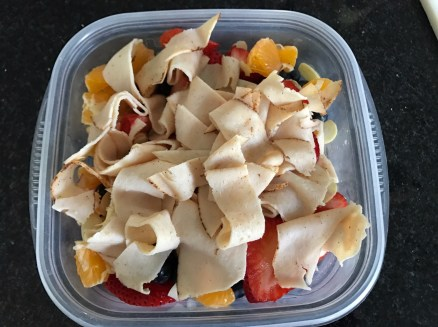 Fruit and Almond Slivers