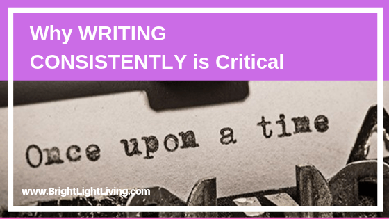 The Important of Writing Consistently