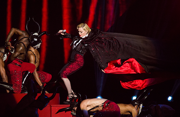 How far is too far in PR? – Madonna at the Brits 2015
