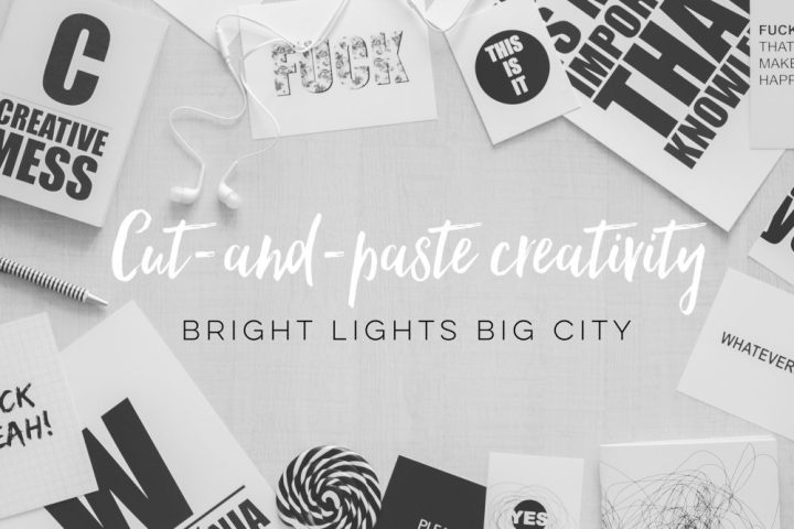 PR Buzz Word #5: Cut-and-paste creativity