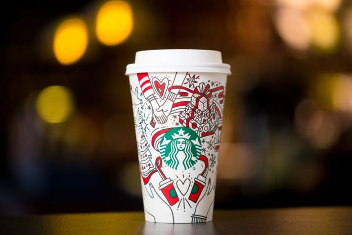 Where's the hype for the Christmas coffee cup this year?