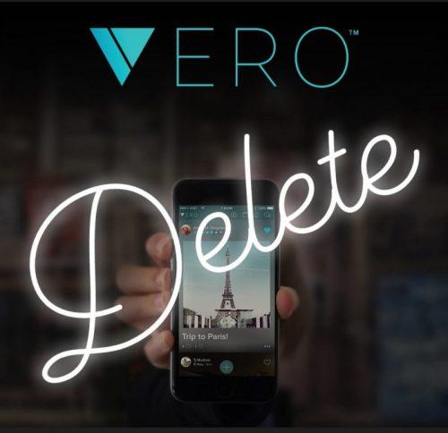 How to delete your Vero account