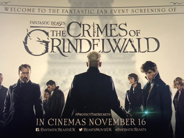 The Crimes of Grindelwald at Showcase Cinema