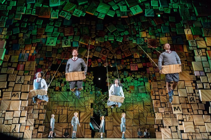 The swings in Matilda