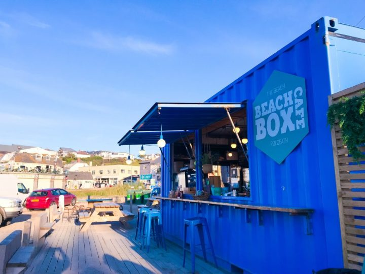 Beach Box Cafe Cornwall