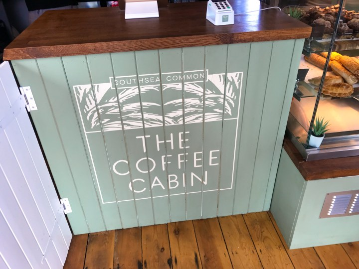 The Coffee Cabin on Southsea Common in Portsmouth, Hampshire