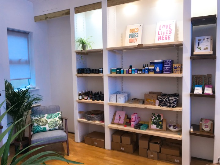 Lifestyle and wellness shop, Coastal Remedy on Marmion Road in Southsea, Portsmouth, Hampshire