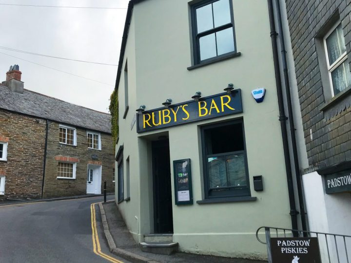 Ruby's Bar in Padstow