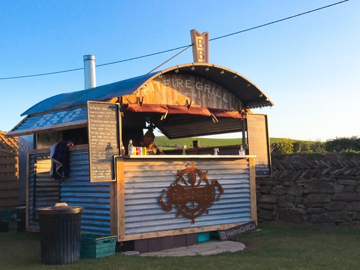 Helms Grill Co. a pop up grill and smokehouse in Cornwall