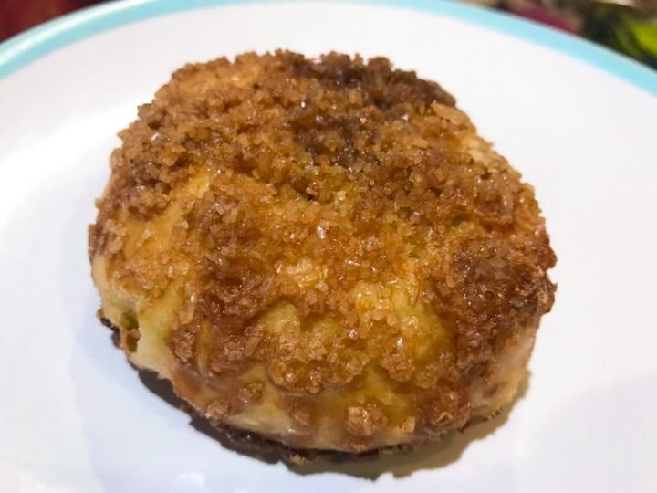 An Eccles cake at Da Bara Bakery in Truro