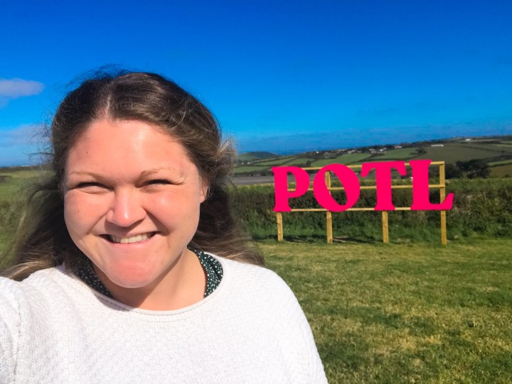 Bex at Prawn on the Lawn in Padstow, Cornwall