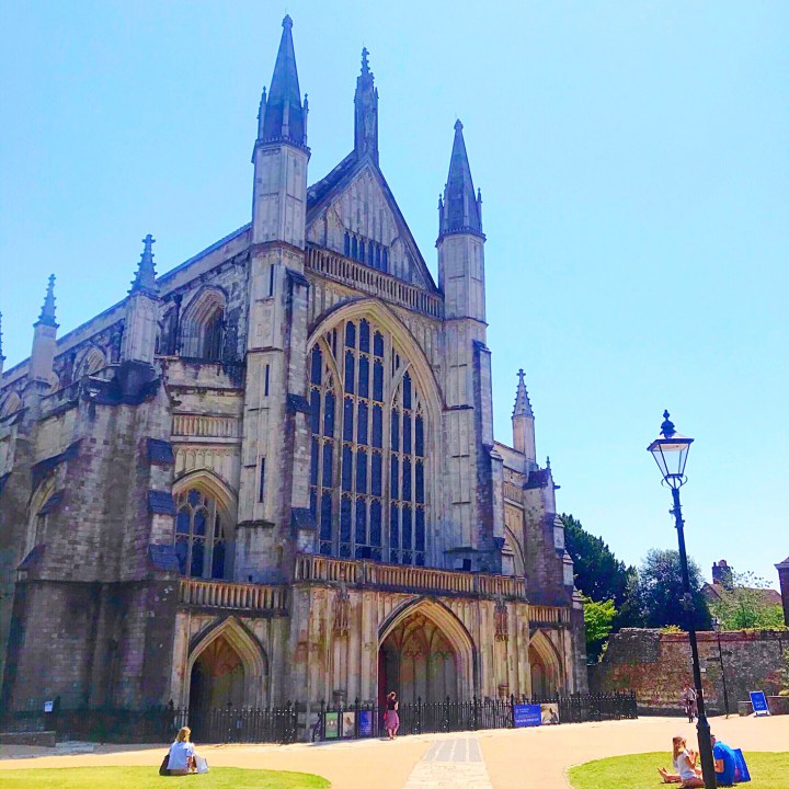 Winchester Cathedral in Hampshire