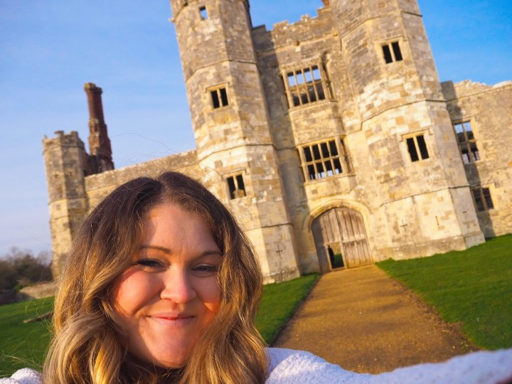 Bex at Titchfield Abbey in Hampshire an English Heritage Site