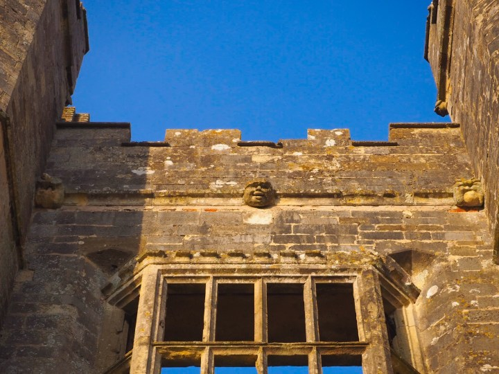 Gargoyles at Titchfield Abbey in Hampshire an English Heritage Site