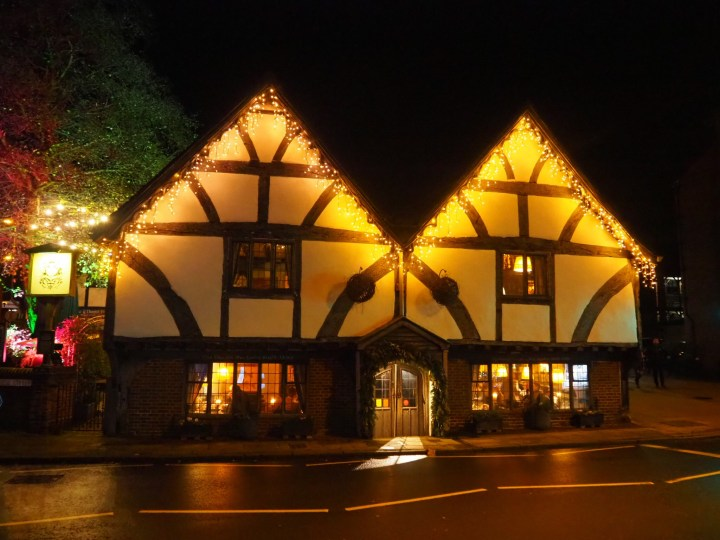 The Winchester Christmas Lights at Chesil Rectory