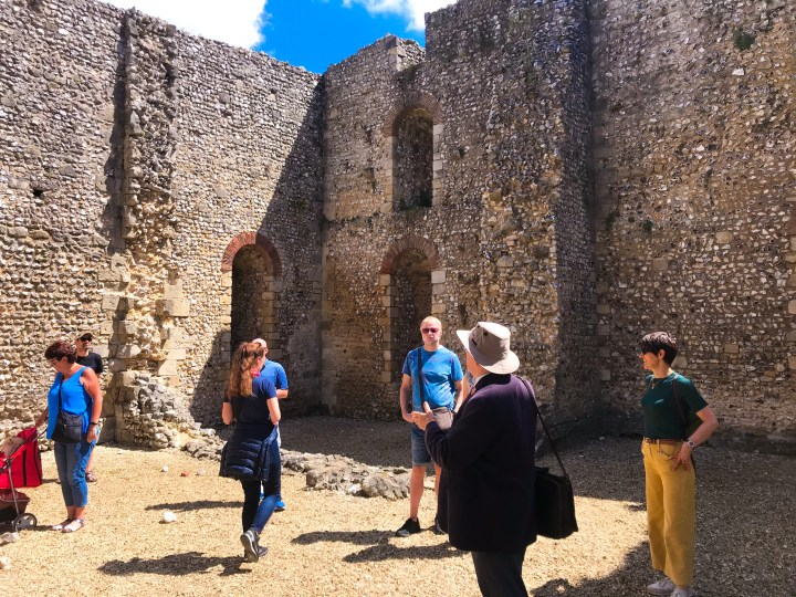 Wolvesey Castle on the Winchester Walking Tours