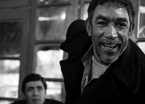 Anthony Quinn and Alan Bates