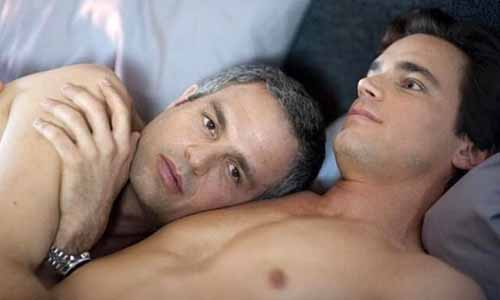 Mark Ruffalo and Mark Bomer in The Normal Heart
