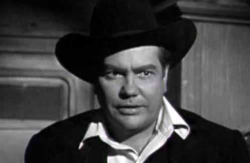Montgomery Pittman in The Iron Trail episode of Cheyenne, 1958