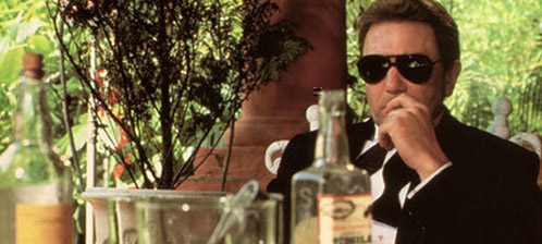 Albert Finney as Firmin in Under the Volcano