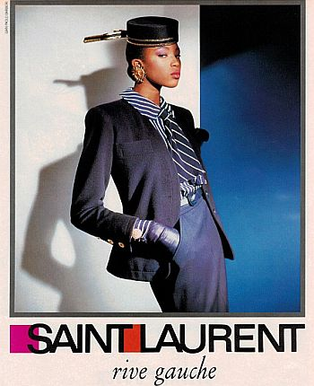 A 1988 ad featuring Naomi Campbell