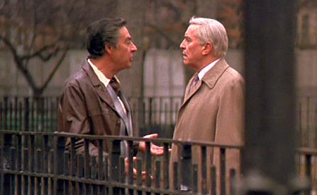 Screenshot: Jerry Orbach and Martin Landau in Crimes and Misdemeanors
