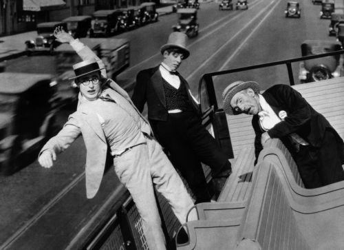 For heaven's Sake: Harold Lloyd, Noah Young, Jack Herrick