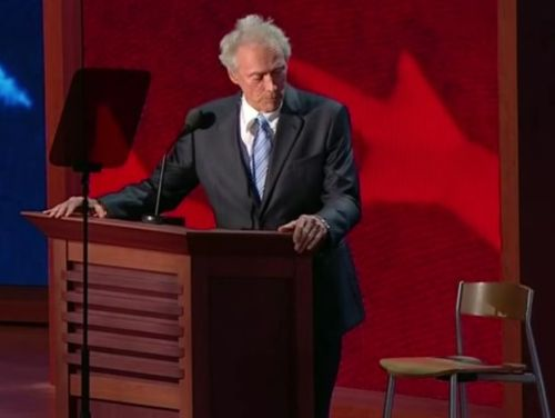 Eastwood and the chair