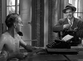 with Clifton Webb in Laura