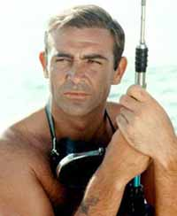 Connery in Dr. No