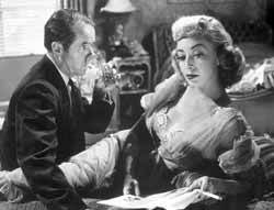 Elisha Cook Jr. and Marie Windsor in The Killing