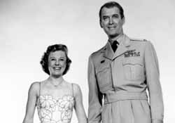 June Allyson and James Stewart