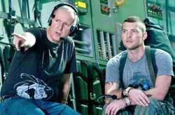 Cameron and Sam Worthington