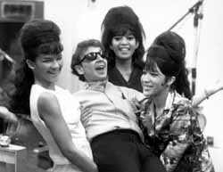 with the Ronettes