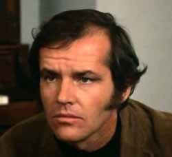 Jack Nicholson in Five Easy Pieces